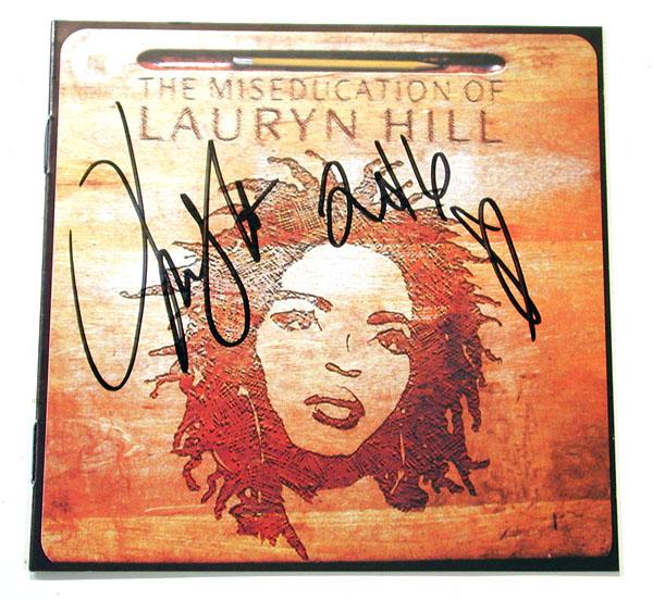 ★★【ローリン・ヒル/Lauryn Hill】直筆サイン入りCD★1★