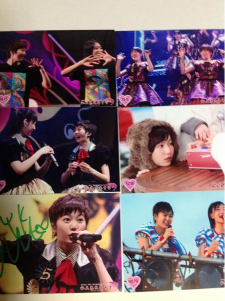 安本彩花 私立恵比寿中学校 生写真 サイン入1+5枚 a036 ライブグッズの画像