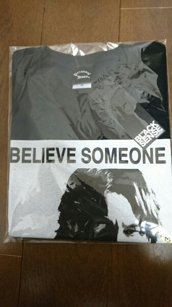 【新品・未開封】氷室京介 PJ BLACK SENSE Photo Tシャツ 黒 M