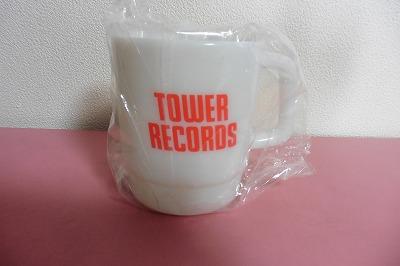 TOWER RECORDS タワーレコード プラカップ NO MUSIC NO LIFE