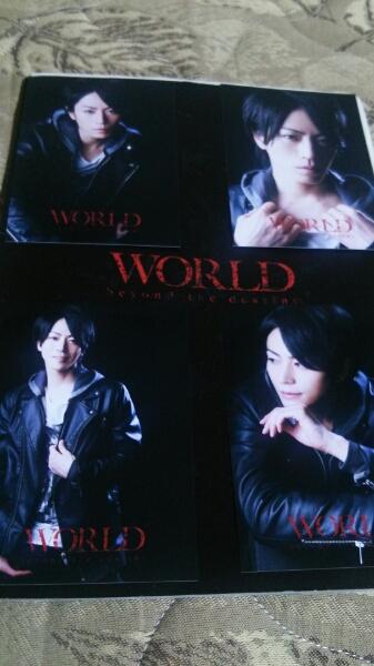廣瀬智紀 WORLDプロマイド 2