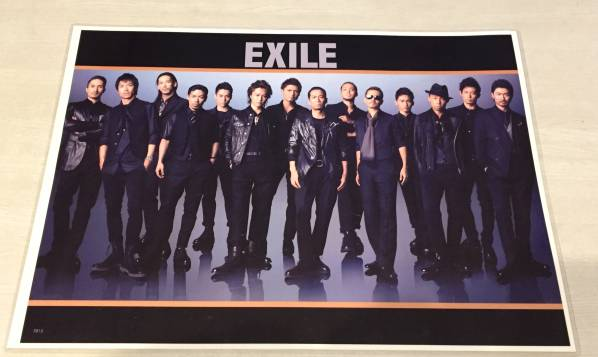 EXILE THE SECOND TRIBE 三代目 巨大写真 フォト ポスター