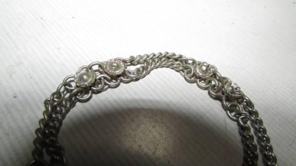 ( старый дом * поставка со склада )( античный серебряный цветок браслет ) редкий товар