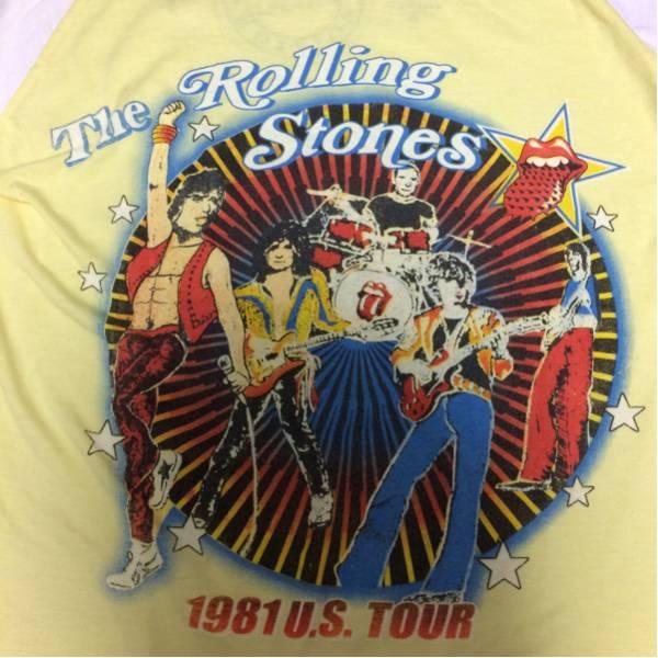 ザ ローリングストーンズThe Rolling Stones ロンTシャツ ミック ライブグッズの画像