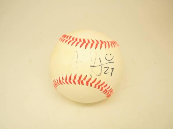 プロ野球 サインボール 横浜DeNAモーガン27番 2013年