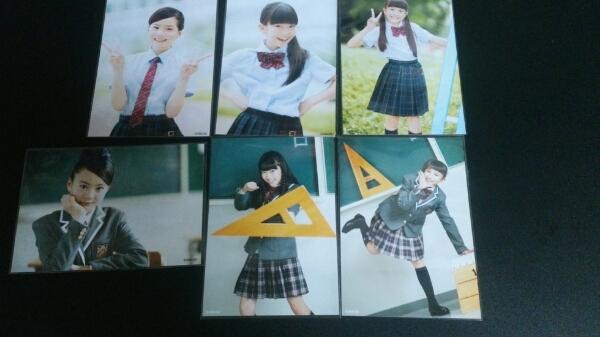 【送料無料】さくら学院 新谷ゆづみ 有友緒心 森萌々穂 公式生写真6枚セット