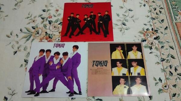 TOKIO 3枚セット パンフレットチラシ1994初ライブ 幻の小島啓6人