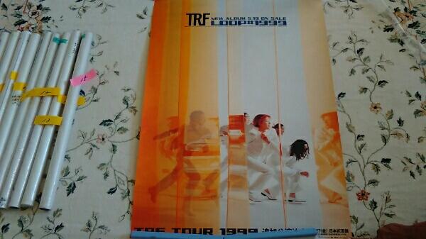 trf B2 ポスター LOOP#1999 送料200円 告知ポスター非売品