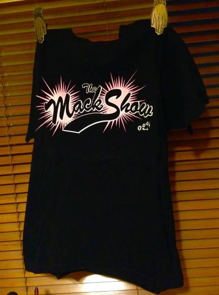 初期The Mack Show TシャツレディースXSマックショウROCK ライブグッズの画像