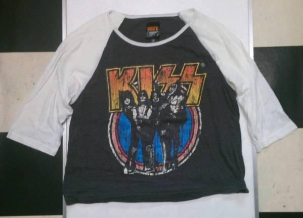 KISS キッス オフィシャル ラグラン Tシャツ ライブグッズの画像