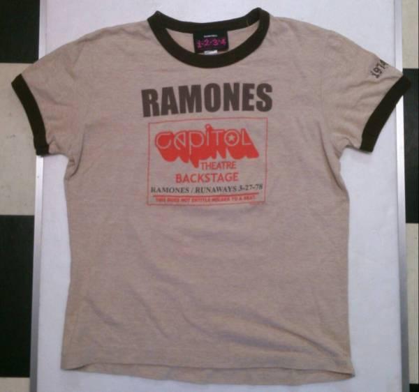 ラモーンズ オフィシャルTシャツ CAPITOL THEATER