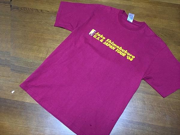 ◆jake shimabukuro◆sizeM 2004 ツアーTシャツ/ジェイク
