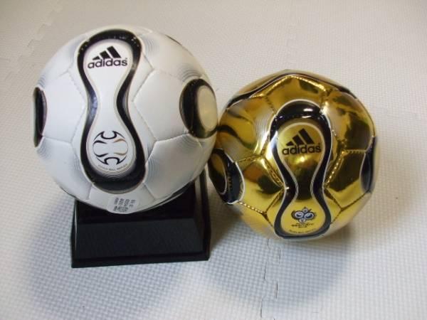 22 アディダス ミニボール 1号 ドイツワールドカップ 2球セット
