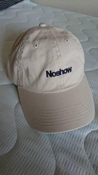 Noshow 6パネルキャップ BACK DROP BOMB