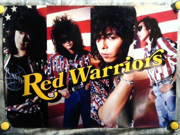b24【大型ポスターA1】RED WARRIORS-レッド ウォーリアーズ