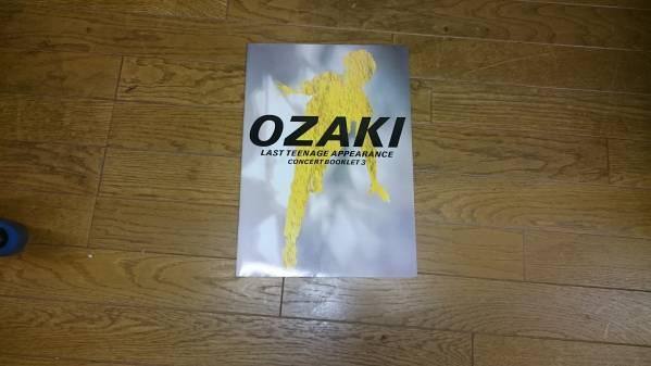 尾崎豊 LAST TEENAGE APPEARANCE ツアーパンフレット