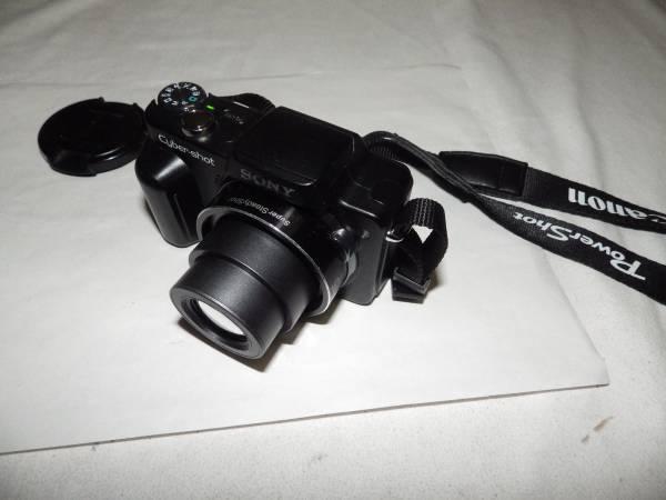 ◆中古美品 コンパクトデジカメ ソニー SONY DSC-H10黒◆