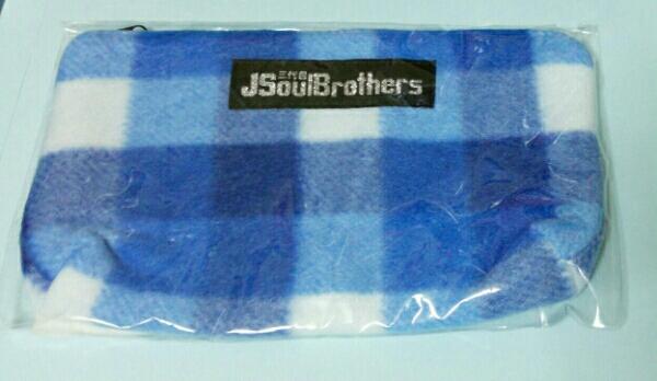 新品☆三代目J Soul Brothers☆チェックポーチ☆ZERO