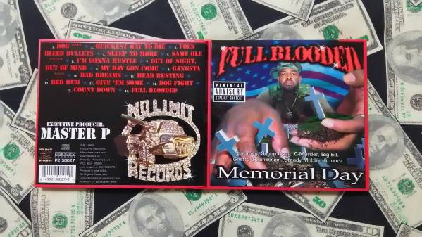送込/FULL BLOODED/memorial day/no limit/master p/snoop dogg