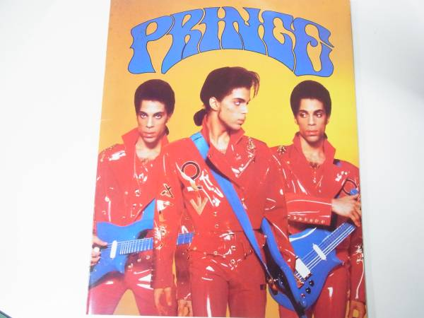 PRINCE プリンス 日本公演ツアー 1990年 パンフレット