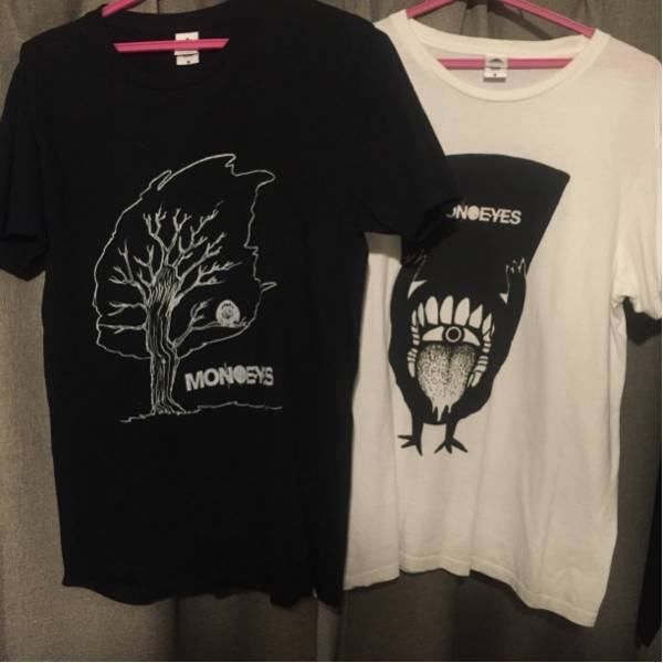美品 MONOEYES Tシャツ 2枚セット Mサイズ エルレ 細美 ライブグッズの画像