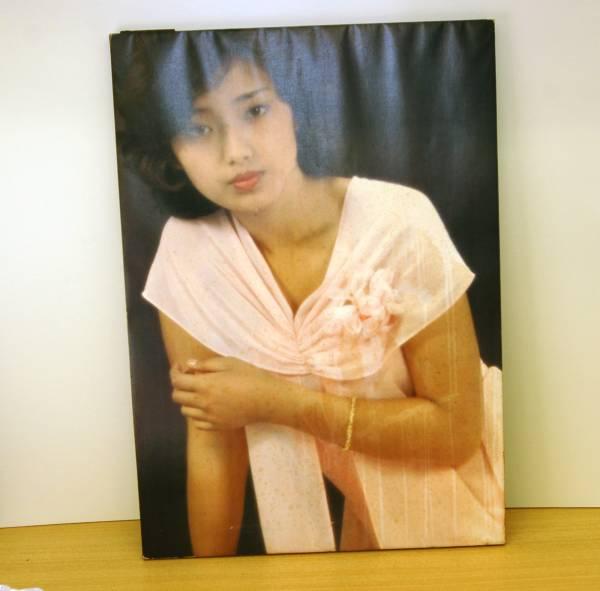 山口百恵 木製パネルポスター(49.5×70cm)
