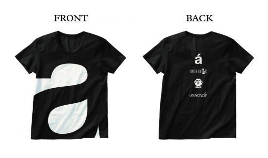 ★★★ undervar  TシャツMサイズ JELLY→ LAID BACK OCEAN