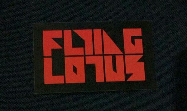 【Flying Lotus】フライング・ロータス ステッカー Warp Records