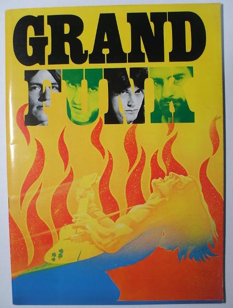 W/来日パンフレット グランド・ファンク GRAND FUNK 1975年