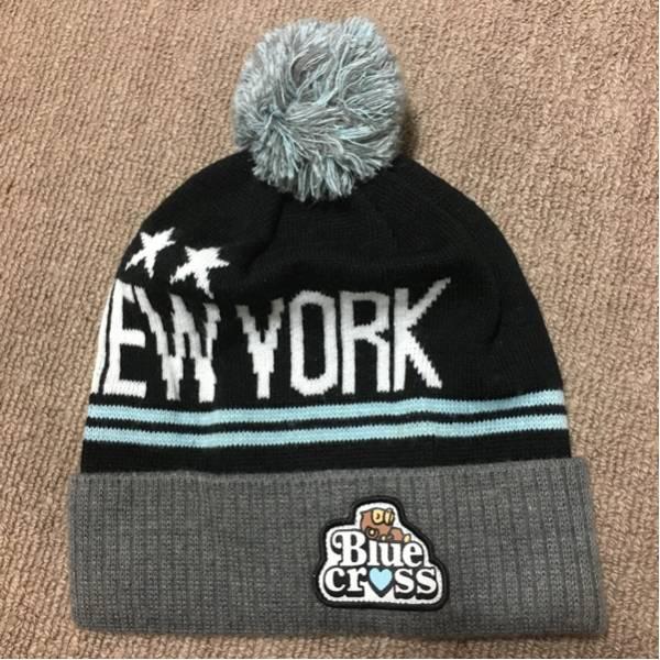 ブルークロス さる ニットキャップ 帽子 サイズF 頭まわり約40cm