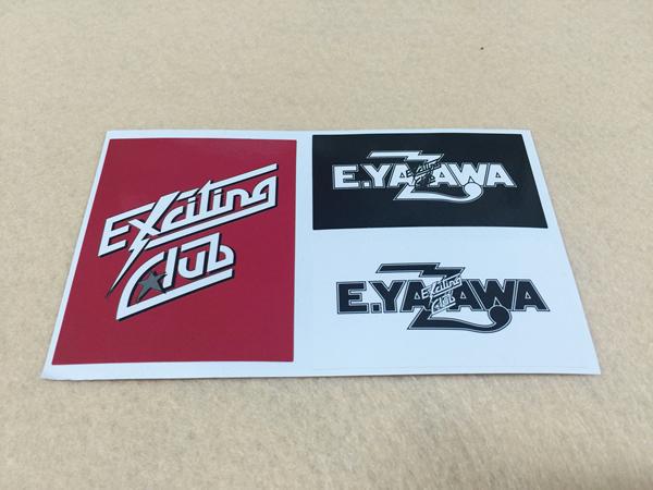 エキサイティングクラブ 矢沢永吉 E.YAZAWA Excitingステッカー