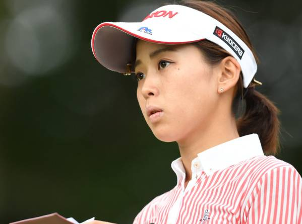 森美穂 2L判写真1枚 女子ゴルフ ①