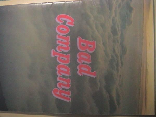 パンフ Bad Company バッド・カンパニー 1975 パンフレット