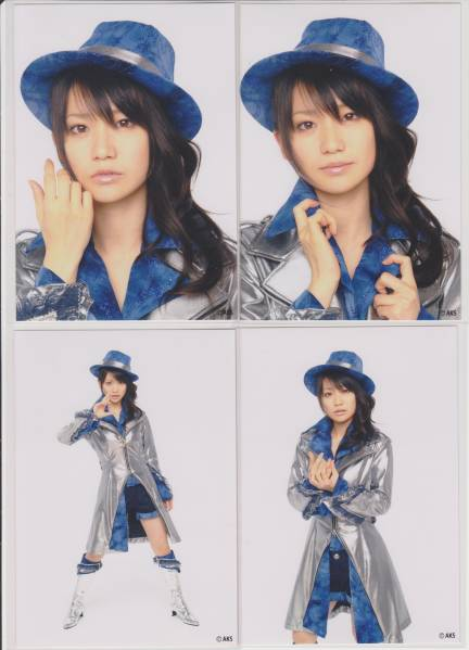 AKB48 大島優子 僕とジュリエット 4種 生写真 ガチャAKS