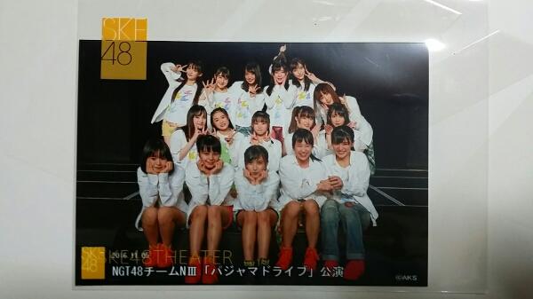 NGT48 SKE48劇場出張公演 集合生写真 11/5 夜公演 L版 ライブグッズの画像