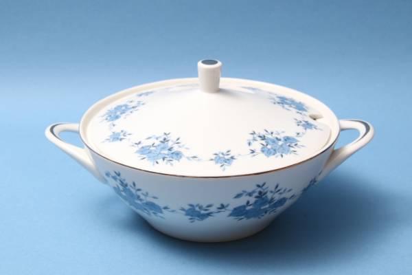 レトロ/テーブルウェア/スープ皿/GOLD/銀彩/アイビー/シチュー_画像1