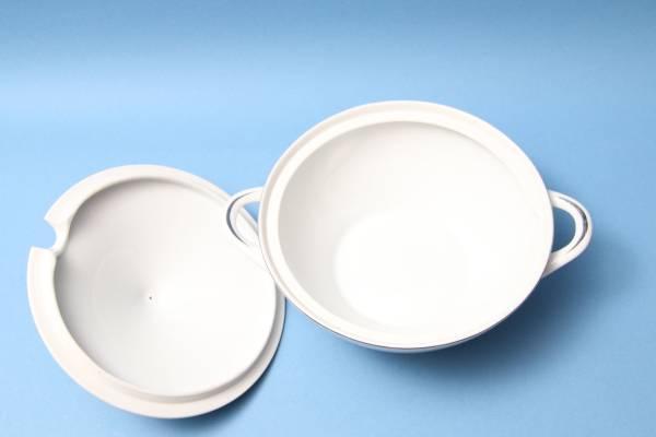 レトロ/テーブルウェア/スープ皿/GOLD/銀彩/アイビー/シチュー_画像3