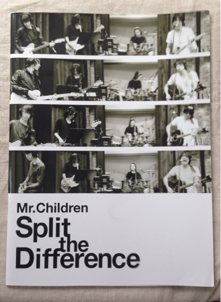 Mr.Children Spilit the difference パンフ チラシ ポストカード