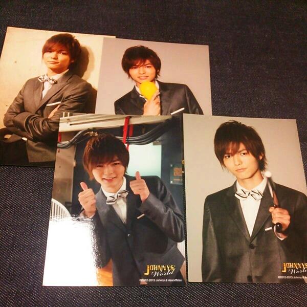 Hey!Say!JUMP 薮宏太 公式写真 ジャニーズワールド 4枚