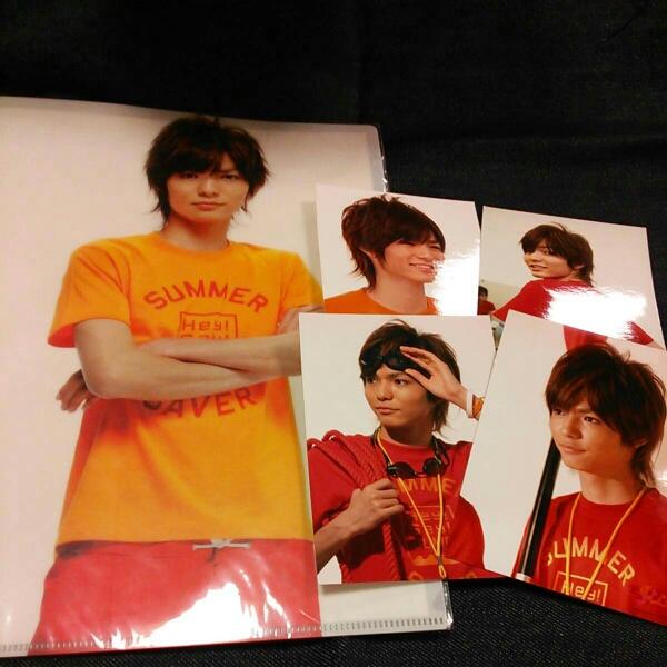 Hey!Say!JUMP 薮宏太 クリアファイル 写真 Summary2008