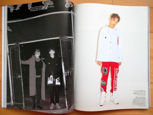 SEVENTEEN ホシ ディノ ジュン ディエイト 韓国雑誌 14P 11月号
