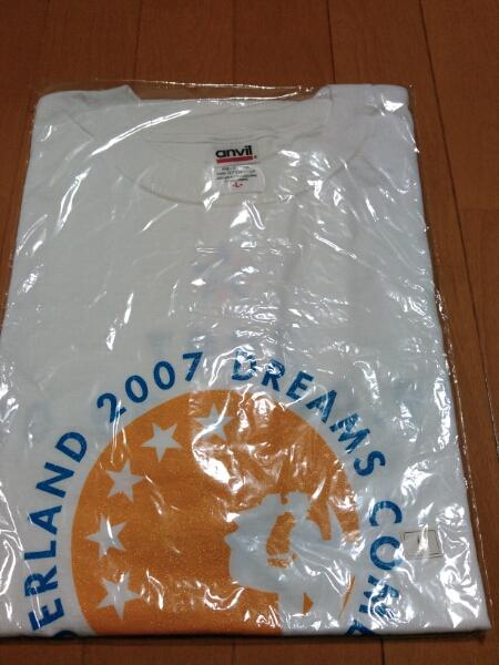 DREAMS COME TRUE ワンダーランド2007 Tシャツ L