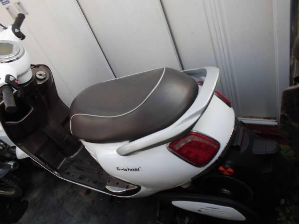 「電動バイク 部品取り車 G-WHEEL なんでもばら売り ジャンク 不動 ★充電器無し」の画像2