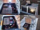 防災対策★ソーラー充電対応・オリジナル蓄電システムCⅢセット