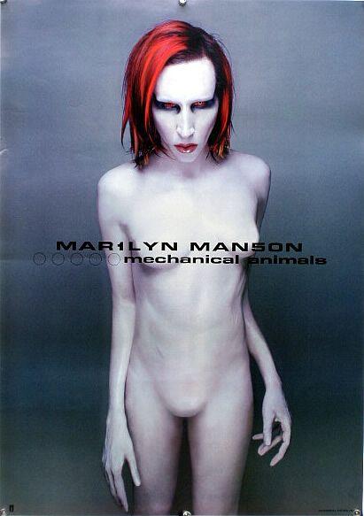 マリリン・マンソン MARILYN MANSON B2ポスター (3P021)