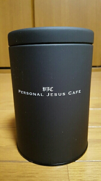 レア 氷室京介 PJC キャニスター PERSONAL JESUS CAFE グッズ