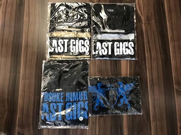 氷室京介 LAST GIGS Tシャツ WOWOWタオルセット 新品 XL ライブグッズの画像