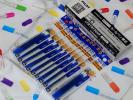 送料無料★フリクションボール多色タイプ替芯 3本入が10セット 0.38青×10パック
