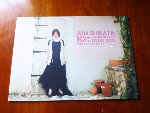 柴田淳 パンフ 10th anniversary tour 2011 パンフレット