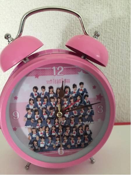AKB48 チーム8 目覚まし時計 東京モーターショー 2015